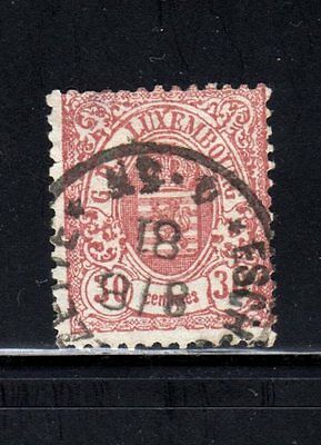 Item No. T30163 – Luxembourg - Scott  # 37 - Used