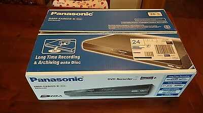 Panasonic DMR-EX86EB-K HDD DVD Recorder with FREEVIEW & 320GB HDD
