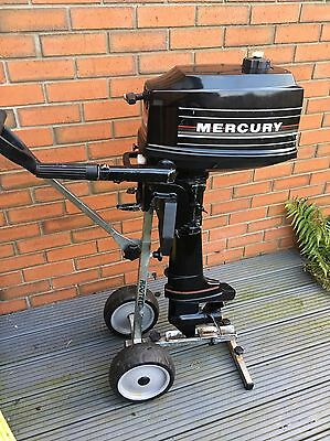Mercury 4hp 2 Stroke Short Shaft  Outboard Boat Engine