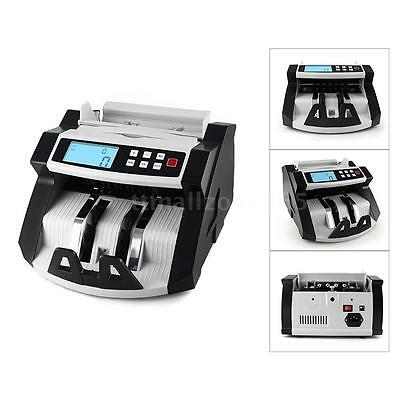 2017 Currency Counting Machine Money Counter MG UV Counterfeit Detector N9N8