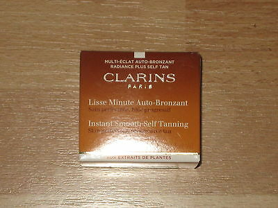 Clarins Instant Smooth Self Tanning Cream 30Ml Brand New In Box & Sealed