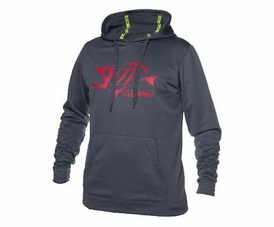 G. Loomis Men's Pullover Hoodie Charcoal w/ Red , XL