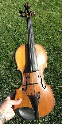 Vintage Antique Full Size Violin By Chadwick London Amati Label