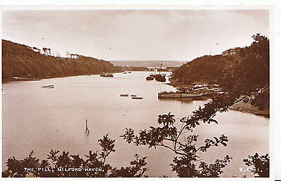 Wales Postcard - The Pill - Milford Haven - Pembrokeshire - Real Photo    ZZ3771