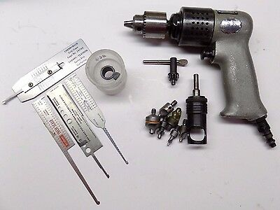 """Beautiful Rockwell 1/4""""  Drill with Extras Aircraft Tool"""