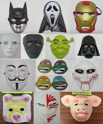 Pack Of 6, 12, 24, Character Movie, Film, Anime, Costume Masks, Party, Wholesale