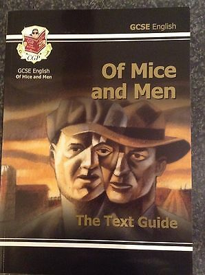 GCSE English Text Guide - Of Mice and Men by CGP Books (Paperback, 2002)