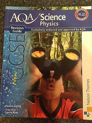 New AQA Science GCSE Physics Revision Guide by Pauline C. Anning (Paperback,...