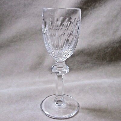 """Vintage 4 1/2"""" Waterford Cut Crystal Curraghmore Cordial Glass Goblet"""