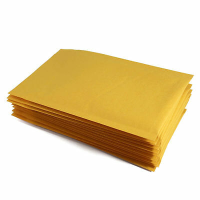 100 #00 5x10 Kraft Bubble Padded Envelopes Mailers 5 X 10