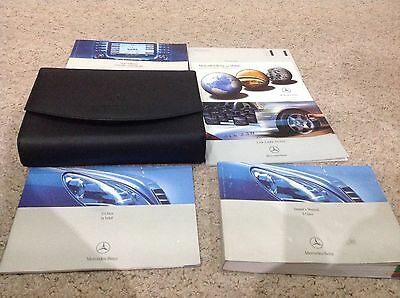 Mercedes  S Class 2001-2005  Owners Manual Handbook Pack  Covers Navigation