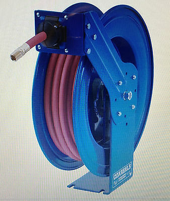 Coxreels HP Series HPL-N-335 Heavy Duty Hose Reel, 35 Ft, 4000 PSI, No Hose