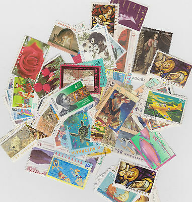 Stamps Australia 100 different fine used commems