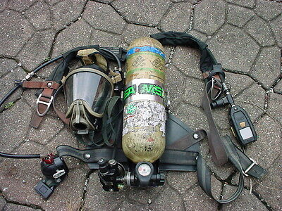 Msa Mmr Firehawk Fireman Fire Dept Scba Air Pack Hp 080816-
