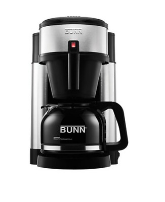 Brand New Bunn NHS Velocity 10-Cup Home Office Coffee Brewer 44900.0002 Steel