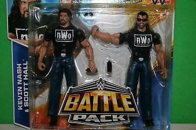 WWE Kevin Nash & Scott Hall Battle pack Action Figures  Mattel 2015