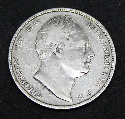 ~~ Great Britain William IV 1834 Silver Half Crown  ~~