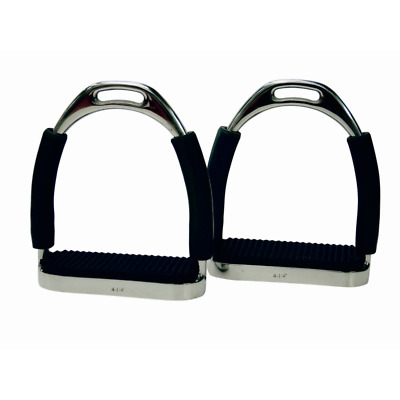 Flexi Stirrups with Black Treads
