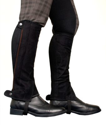TBK Adults Synthetic Half Chaps - CLEARANCE - WAS £25