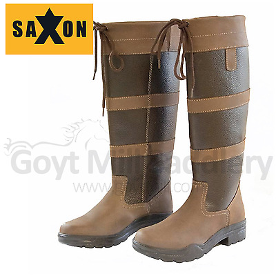 Saxon Tall Country Boots - CLEARANCE  - WAS £80