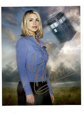 Billie Piper Authentic Signed Autograph Montreal Comiccon 2015 Doctor Who Coa