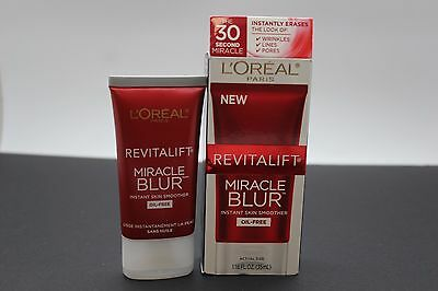 L'oreal Paris Revitalift Miracle Blur Instant Skin Smoother 1.18 Oz.