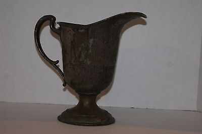 "Vintage Shefffield Paul Revere Silver Company 456 9-5/8"" Silverplate Pitcher"