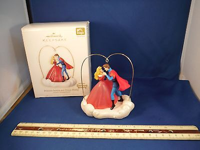 Hallmark Sleeping Beauty 2006 Magic Ornaments Princess Aurora And Prince Phillip