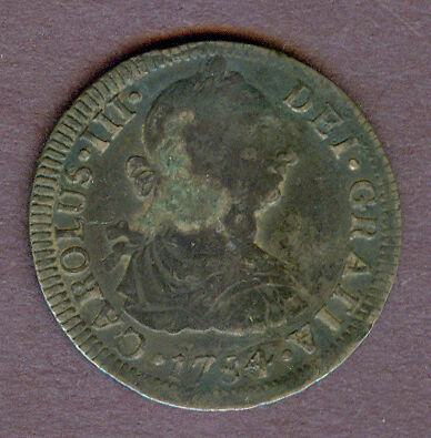 Spanish Colonial Mexico 2 Reales, 1784FF!