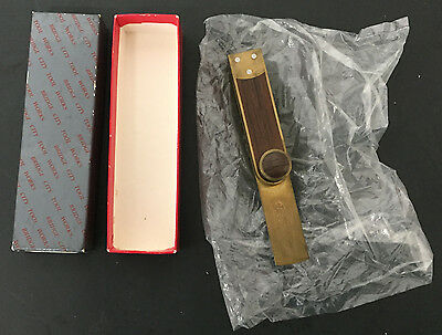 "Bridge City Tool Works TB-1 5"" T-Bevel w/Box Rosewood Brass"