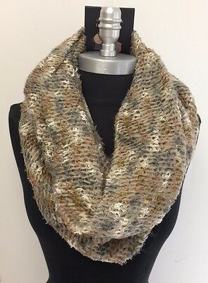 New Women's fashion Infinity 1-Circle Cable Knit Cowl Neck Loop Scarf Wrap Soft
