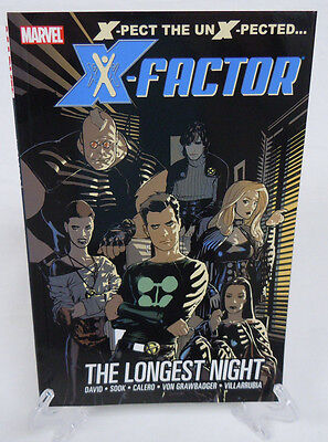X-Factor The Longest Night 1 2 3 4 5 6 Marvel Comics TPB Trade Paperback New