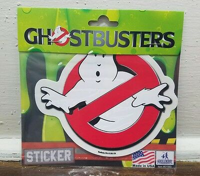GhostBusters Vinyl Car/Wall Sticker Decals 5 1/2 x 4 3/4
