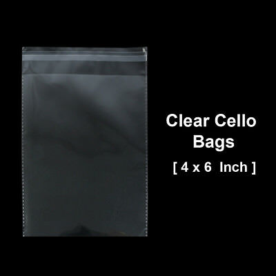 The Elixir Deco 100x Suffocation Warning Clear Reclosable Poly Bag, Various Size