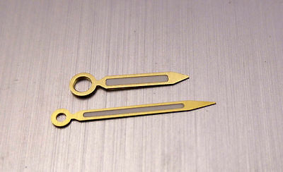 Gold Double Pencil thin end Hand set for 6497 Cortbert 616 Molnija 3601 Pam 6152