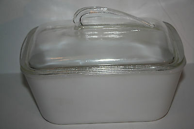 Bakeglass 1 1/2 QT Refrigerator  Dish Made in USA