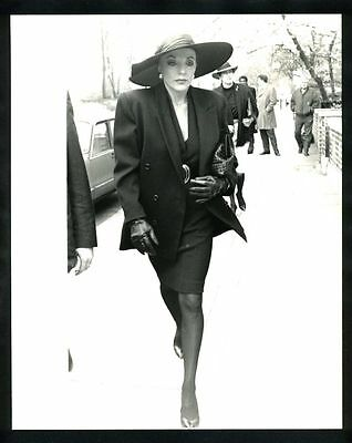 1980s Original Photo JOAN COLLINS DYNASTY THE BRAVADOS gp