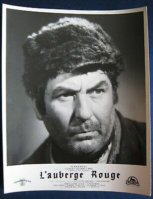 french lobby card  L'auberge Rouge / The Red Inn   Julien Carette
