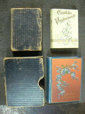 2 Victorian Sister's Date Books, 1832-1977 Lueth Family Geneology Records
