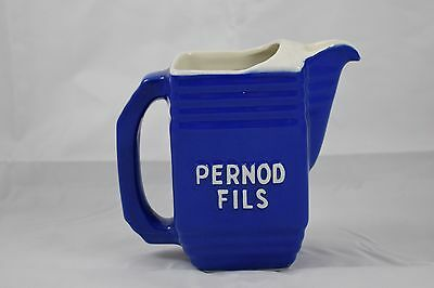 Ancien Pichet Pastis Pernod Fils Annees 1945/50 Faience Mdl  Anis
