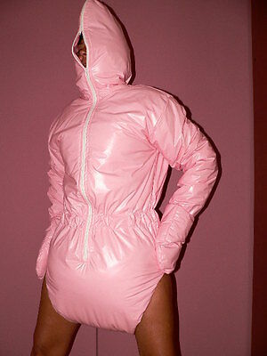 Adult Spreading Romper*completely PVC Spreizbody incontinence
