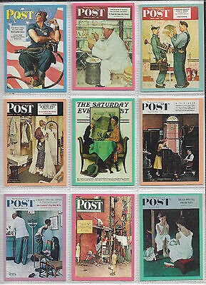 Norman Rockwell 1993 Comic Collector 90 Cards Set
