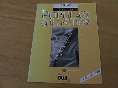 Popular Collection Clarinet Solo  Band 5 Dux 11540