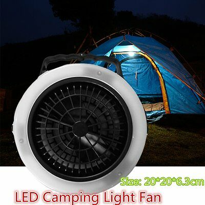 Multifunctional Casual Outdoor Camping Hiking Light Lantern LED Tent Light Fan L