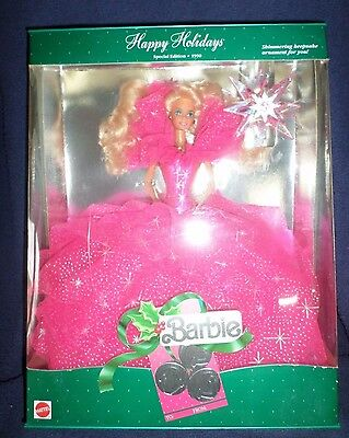 Barbie Happy Holidays Holiday 1990 Nrfb Magia Delle Feste