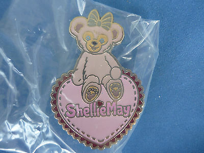 SHELLIE MAY from DUFFY   Disney Pin 2016  HONG KONG EXCLUSIVE # 7 HEART   Cute