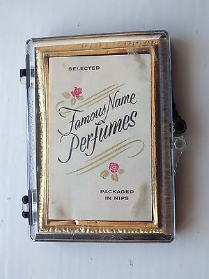 Vintage Perfume Nips - Famous Name Perfumes In Sample Nips With Paperwork