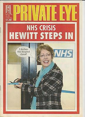 Private Eye Magazine # 1157 28 April 2006 Patricia Hewitt MP NHS Crisis cover