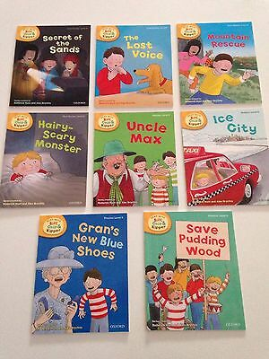 Oxford Reading Tree Biff, Chip & Kipper Level 6 (stage 5-6) 8 Books New