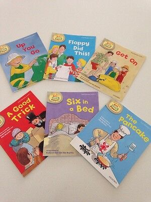 Oxford Reading Tree Biff, Chip & Kipper Level 1 First Stories 6 Books New